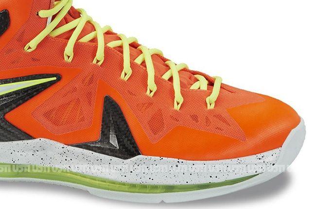 Nike Lebron X Elite Total Crimson Fiberglass Toebox 1