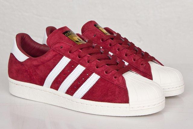 Adidas Superstar 80S Deluxe Suede Pack 3
