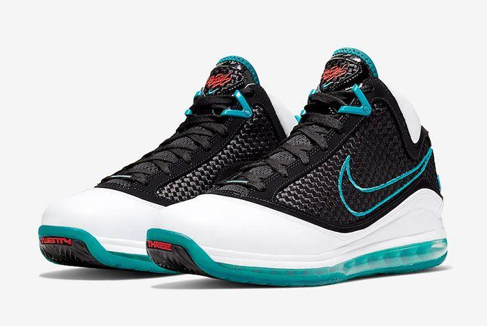 Nike Le Bron 7 Red Carpet Cu5133 100 2019 Retro Release Date 4 Pair