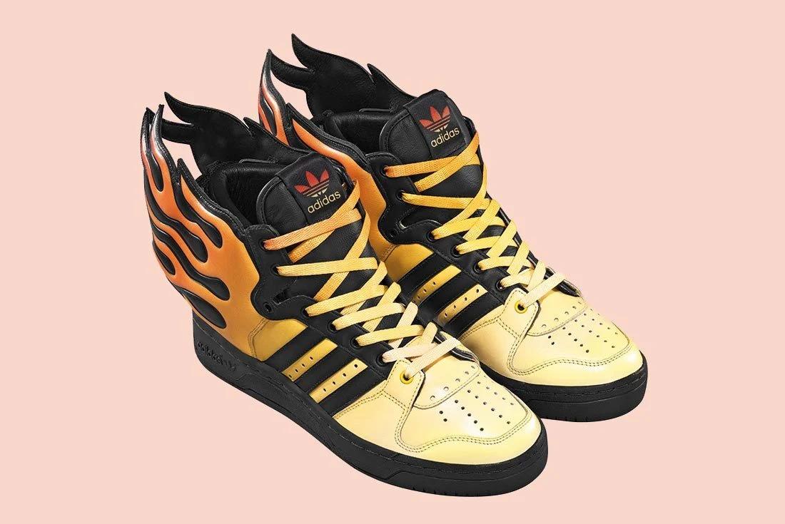 Jeremy Scott adidas Flames