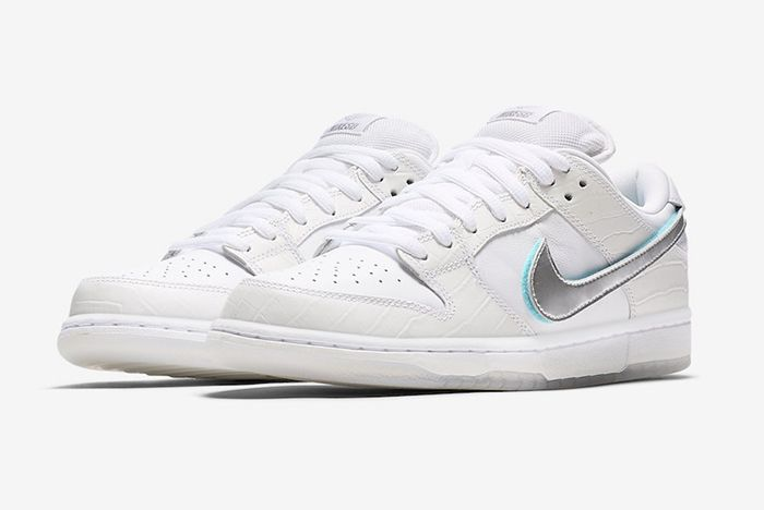 Diamond Supply Co Nike Sb Dunk Low Tiffany White Official 1