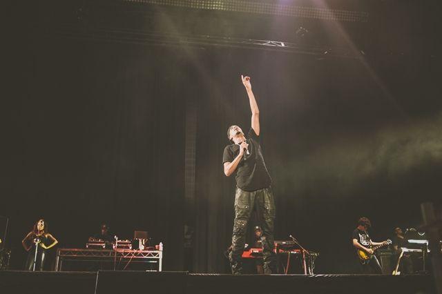 Eminem The Rapture J Cole Melbourne 17