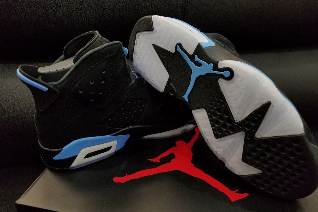 Air Jordan 6 University Blue 2