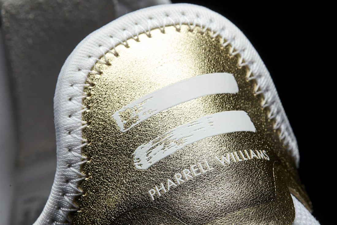 Pharrell Williams X Adidas Tennis Hu Gold2