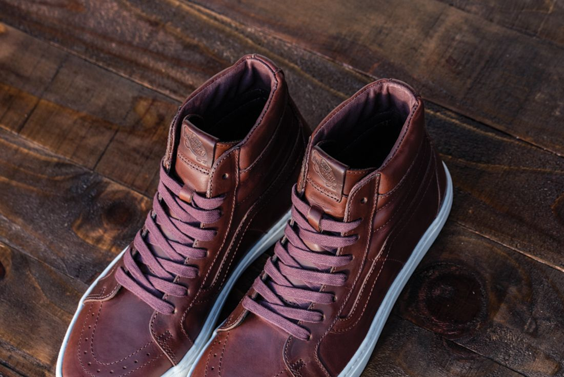 Horween Leather X Vans Vault Collection12