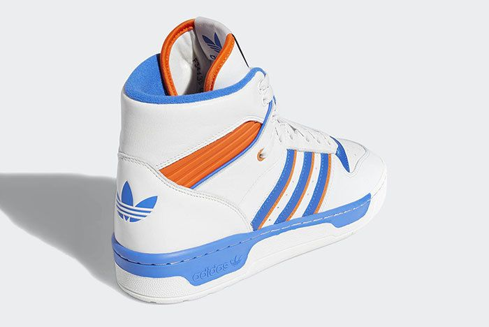 Adidas Rivalry Hi Knicks White Blue Orange F34139 3