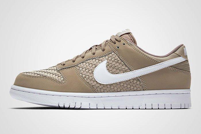 Nike Sb Dunk Low Woven Khaki Thumb