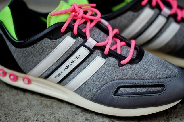 Y 3 Tokio Trainer Neon Pack Midfoot Detail