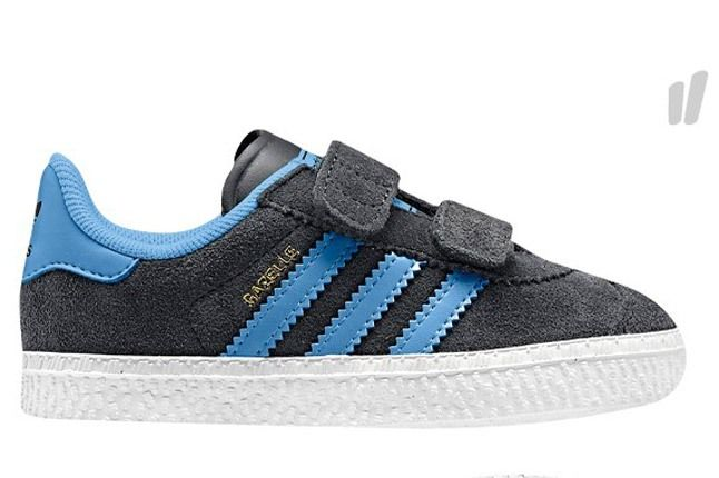 Adidas Kids Gazelle Blue Black 1