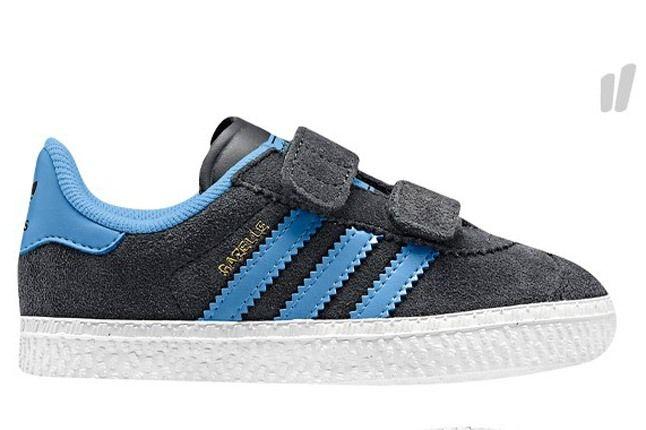 Adidas Kids Gazelle Blue Black 1