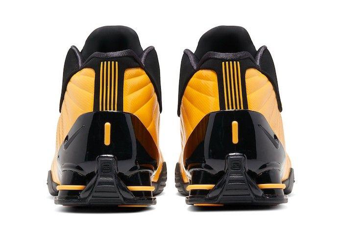Nike Shox Bb4 University Gold 5