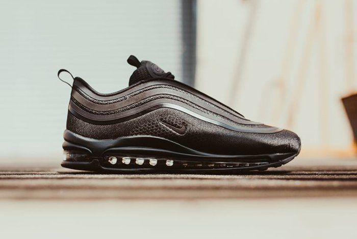 Nike Air Max 97 Triple Black Feature