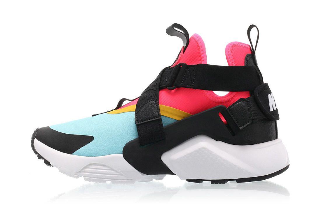  Nike Air Huarache City Bleached Aqua Racer Pink Sneaker Freaker 1