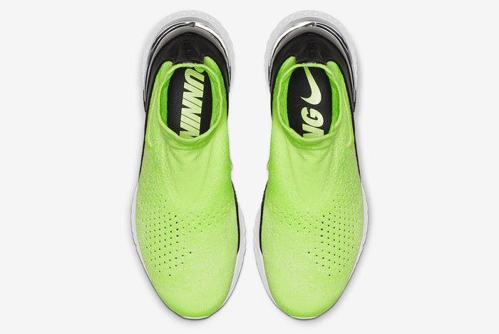 Nike Rise React Flyknit Lime Blast Top