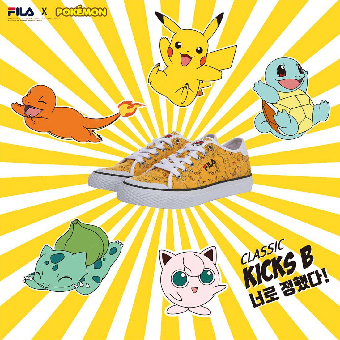 Pokemon X Fila Sneakers Classic Kicks B Sneaker Freaker 1