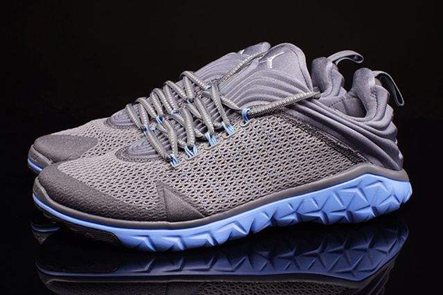 Jordan Flight Flex Trainer Grey University Blue 1