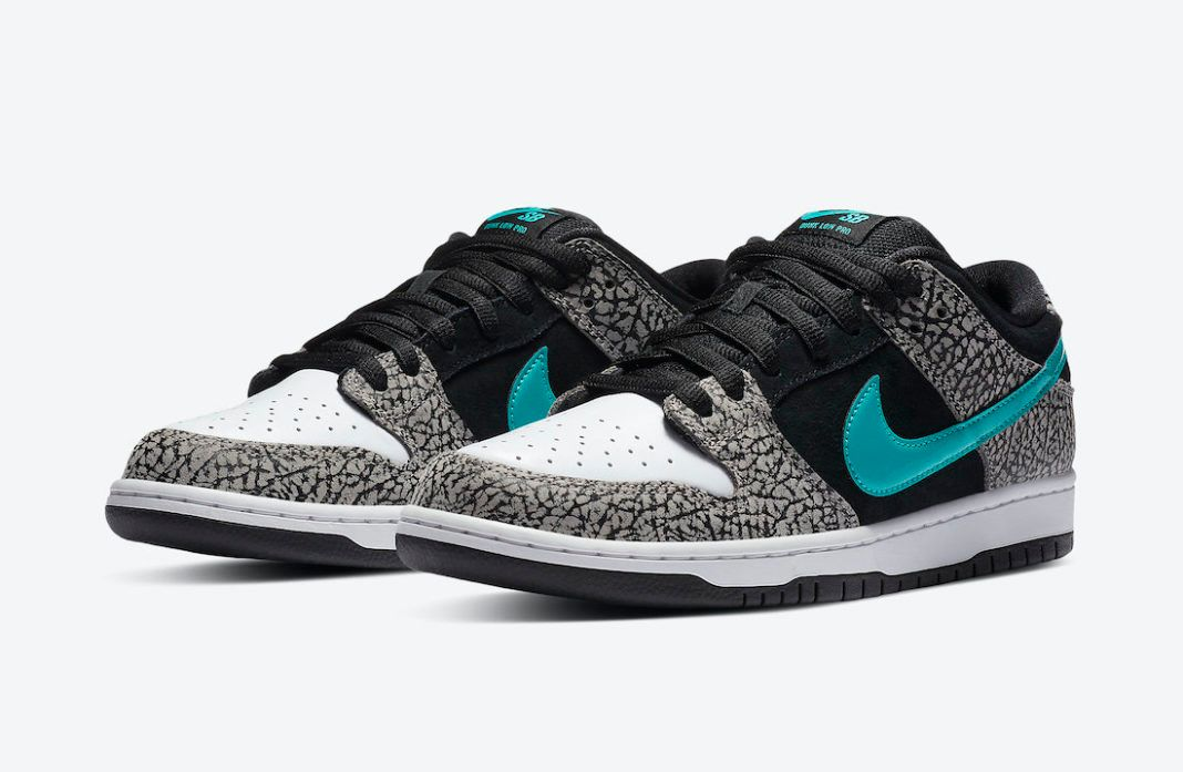 Nike SB Dunk Low 'Elephant' official