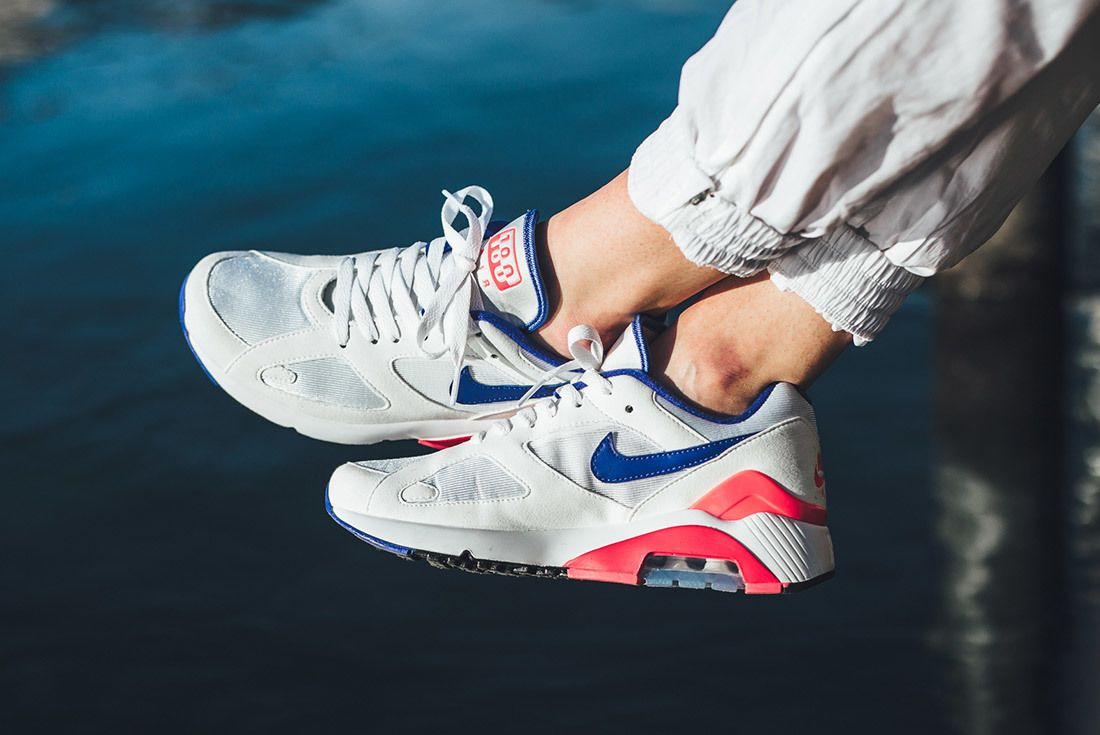 Nikeair Max 180 2018 Ultramarine On Foot 4