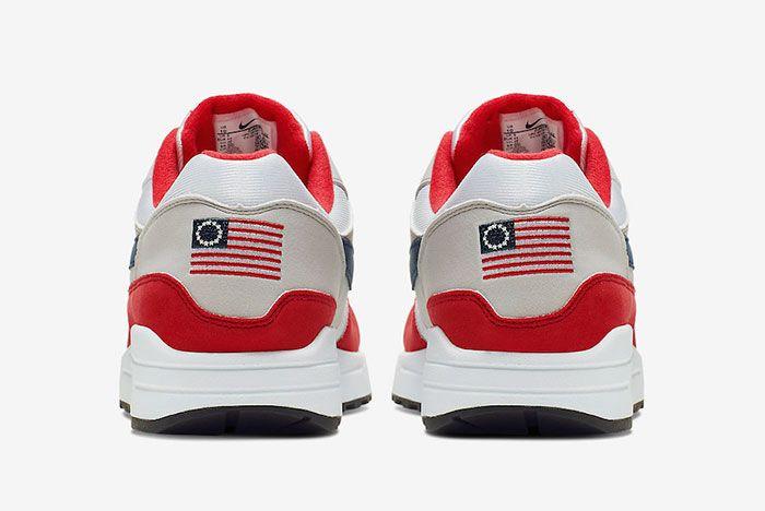 Nike Air Max 1 4Th Of July Cj4283 100 Heel Flag Detail