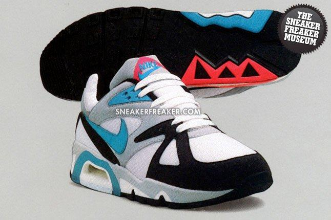 Nike Air Structure 1991 Neo Teal Solar Red 1