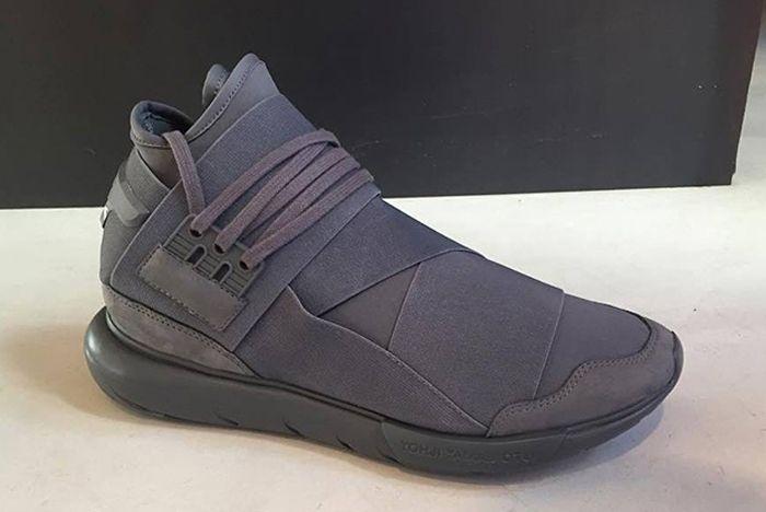 Adidas Y 3 Qasa High Triple Grey