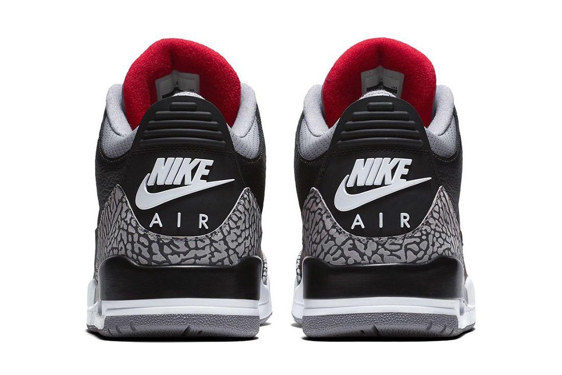 Nike Air Jordan 3 Black Cement Official Images Release Date Sneaker Freaker 3