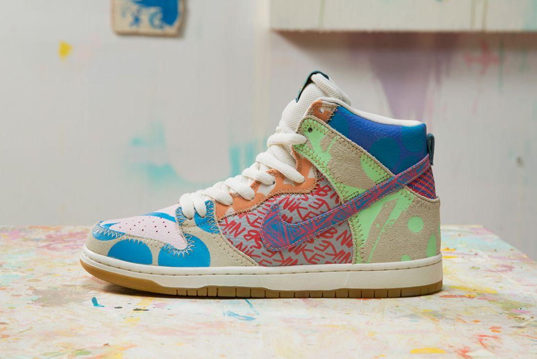 Thomas Campbell X Nike Sb Dunk High Premium What The5