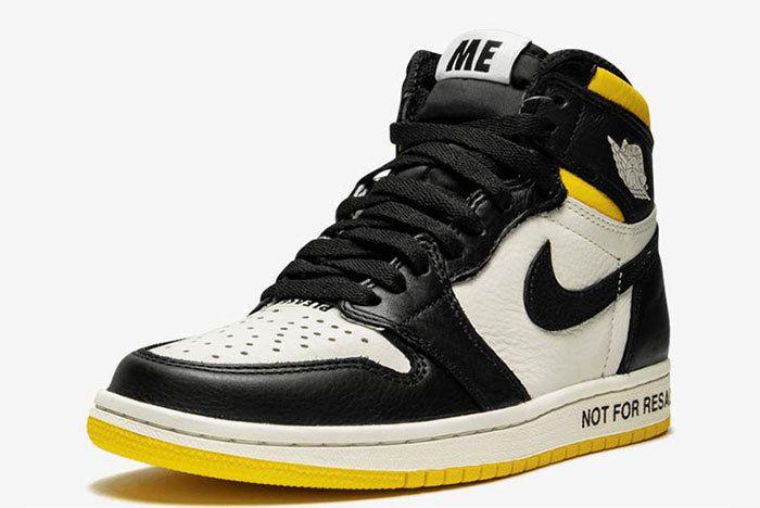 Air Jordan 1 Not For Resale Yellow 861428 107 3