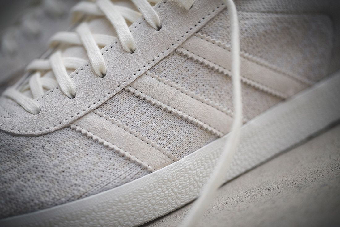 Wings And Horns Adidas Gazelle Off White 1