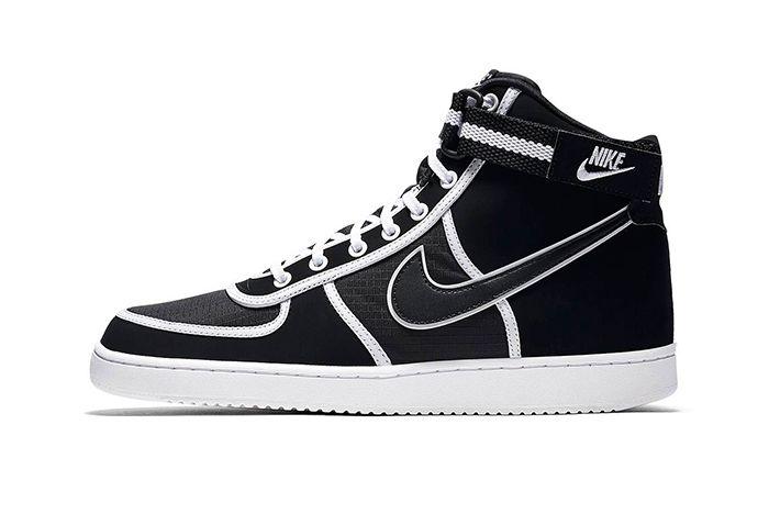 Nike Vandal Hi Black Ripstop White 1