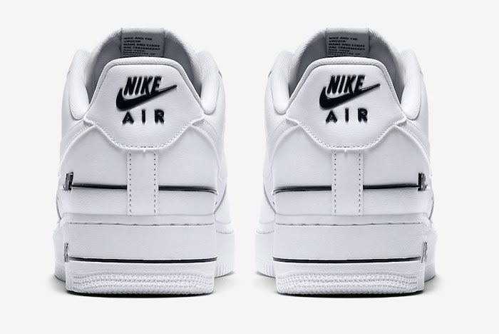 Nike Air Force 1 Low Double Air Cj1379 100 Release Date 5 Official