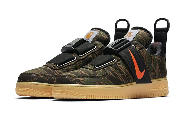 Carhartt Wip Nike Air Force 1 Low Utility Camo 1