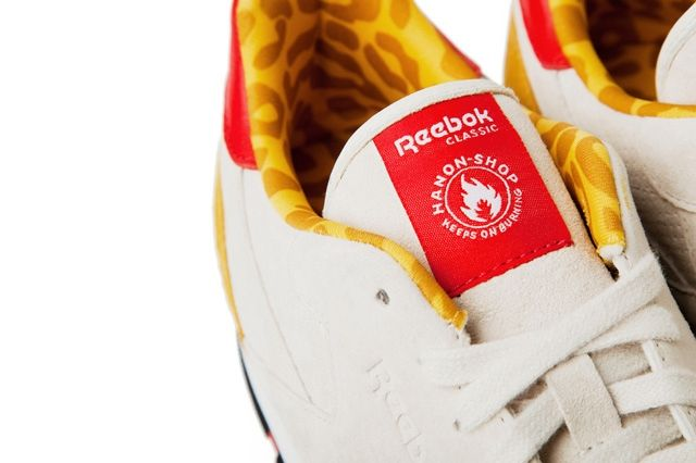 Hanon Shop X Reebok Classic Leather 30Th Anniversary Tongue Detail
