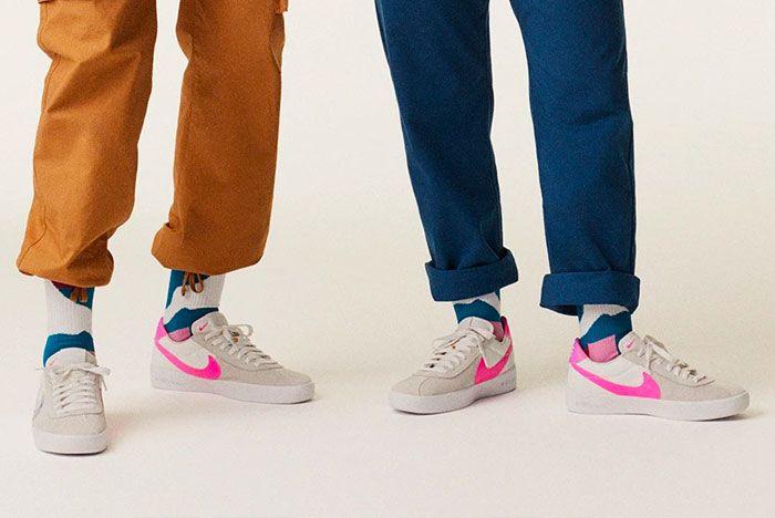 Nike Bruin Zoom X Bruin React On Foot 3