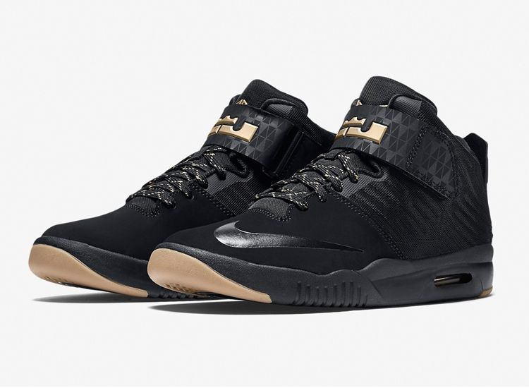 Nike Lebron Aronite Black Gold