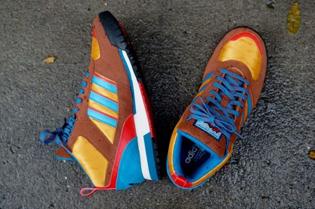 Adidas Zx Tr Mid Brown 3