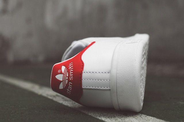 Adidas Originals Stan Smith Og White Red 3