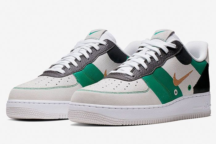 Nike Air Force 1 Low Prm Ci0065 100 Front Angle