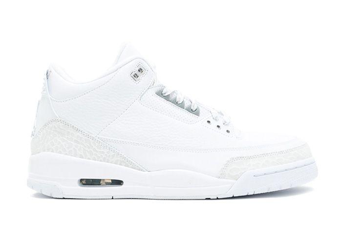 Air Jordan 3 Silver Anniversary Triple White Sneaker Freaker 2