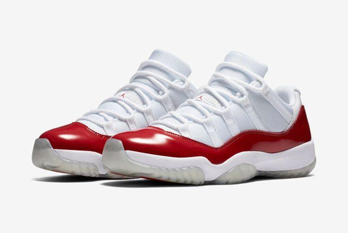 Jordan 11 Low Cherry 6