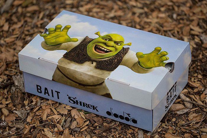 Bait Dreamworks Diadora N9000 Shrek 2