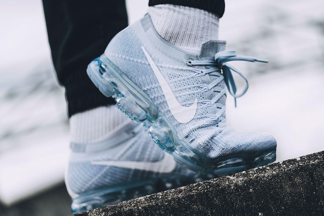 Nike Air Vapormax Pure Platinum On Feet 2
