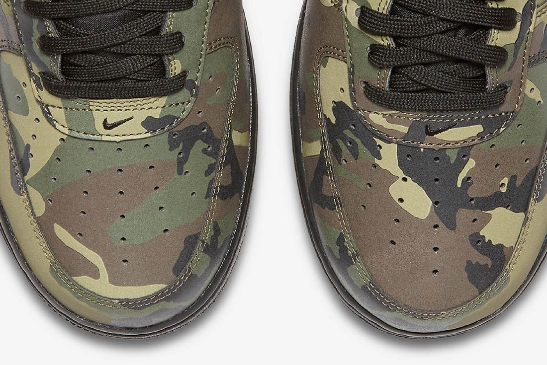 Nike Air Force 1 Camo Reflective 10