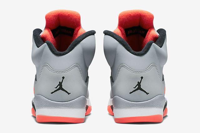 Air Jordan 5 Gg Wolf Grey Hot Lava 5