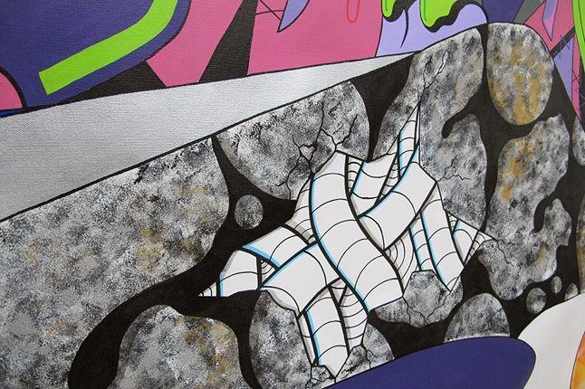 Sekured Nike Airmax 90 Time Lapse Mural Inprogress 3 1