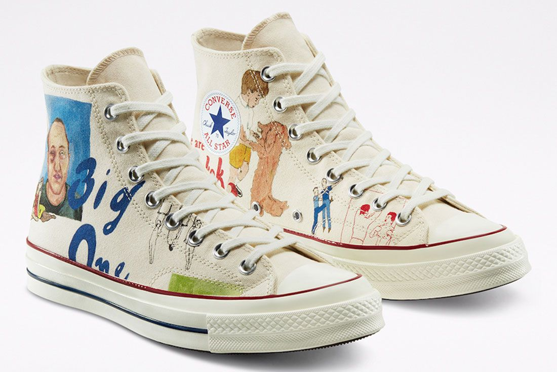 Spencer McMullen x Converse Chuck 70 Front Angle