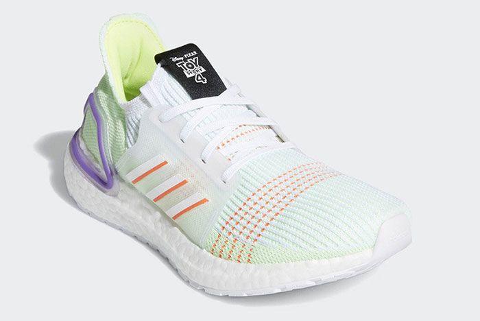 Adidas Ultra Boost 19 Buzz Lightyear 2 Side Angle