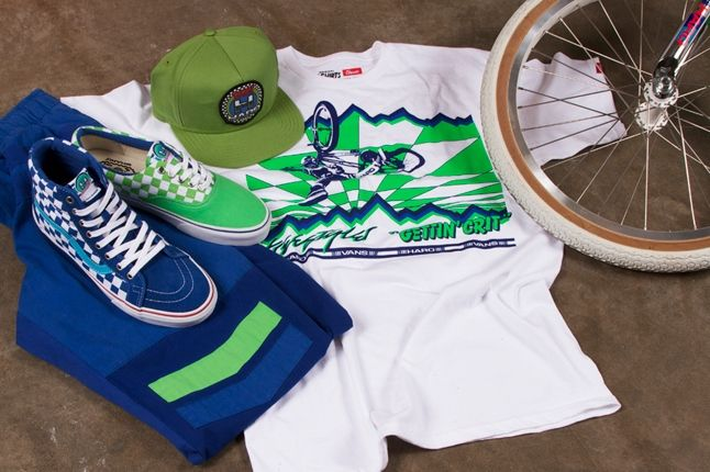 Vans X Haro Shirt And Bike 1