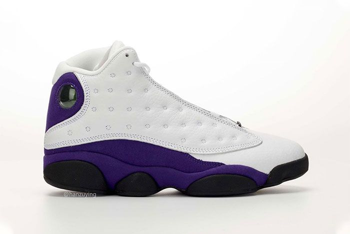 Air Jordan 13 Lakers Right