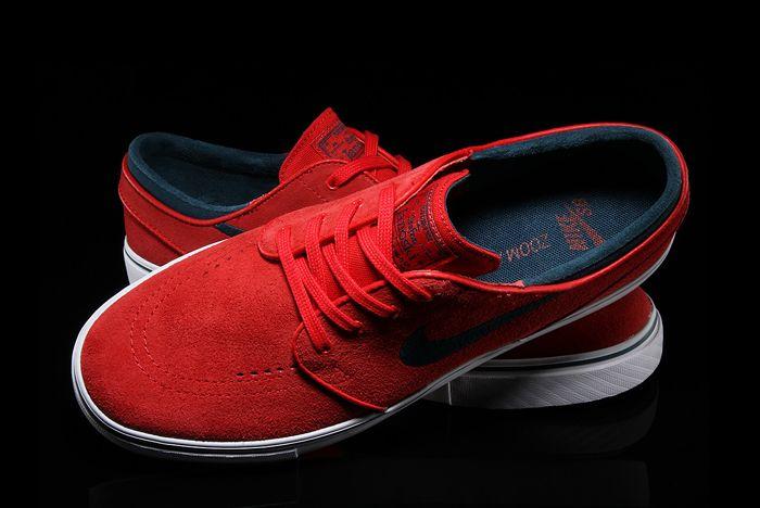 Nike Sb Air Zoom Stefan Janoski University Red4